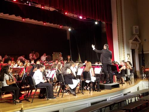 District holiday concert