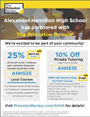 The Princeton Review at AHHS
