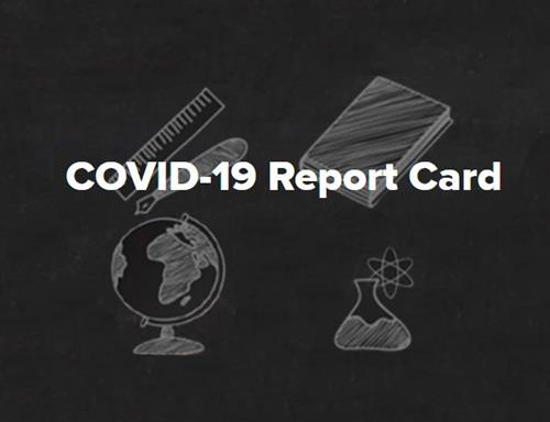 COVID-19 Report Card Image